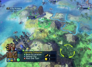 The turn-based game Sid Meier's Civilization Revolution won the Strategy BAFTA (Firaxis Games/2K Games).