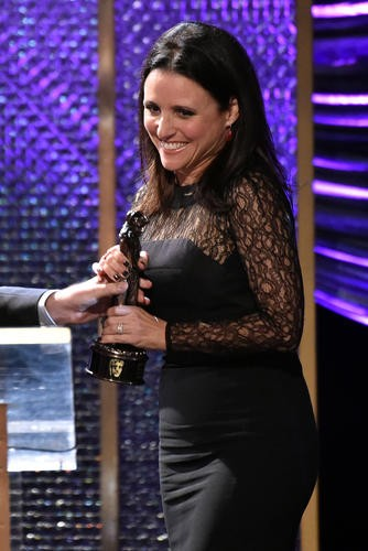 Actress Julia Louis-Dreyfus honored with Charlie Chaplin Britannia Award for Excellence in Comedy