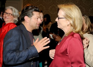 Andy Serkis and Meryl Streep