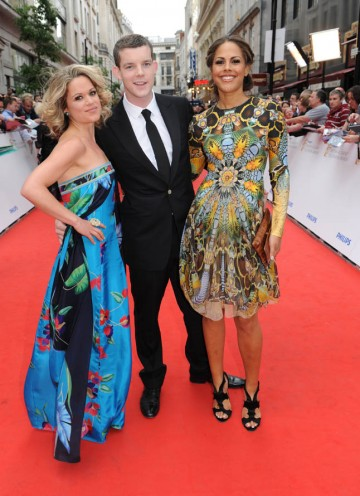 Nominated for the Drama Series BAFTA, the Being Human stars arrive at the London Palladium (BAFTA/Richard Kendal).