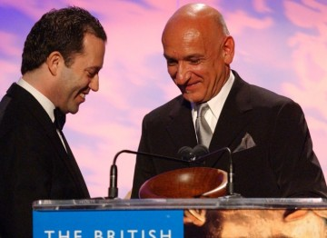 Sir Ben Kingsley and Colin Callender