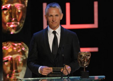 "Described by host Graham Norton as ""one of England's greatest ever footballers"", Gary Linekar took to the stage to present the Sport category (BAFTA / Marc Hoberman)."