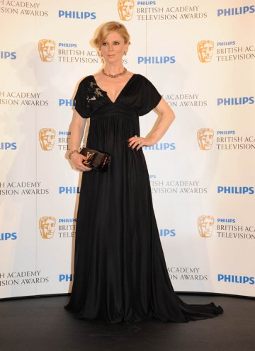 Emilia Fox presents the Support Actor BAFTA (BAFTA/Richard Kendal).