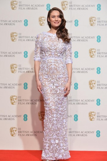 Presenter of the Costume Design award: Olga Kurylenko