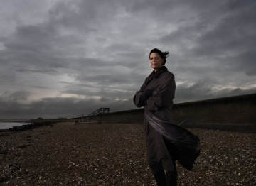 Director Clio Barnard poses for the British Directors photo series for the 2011 Film Awards.