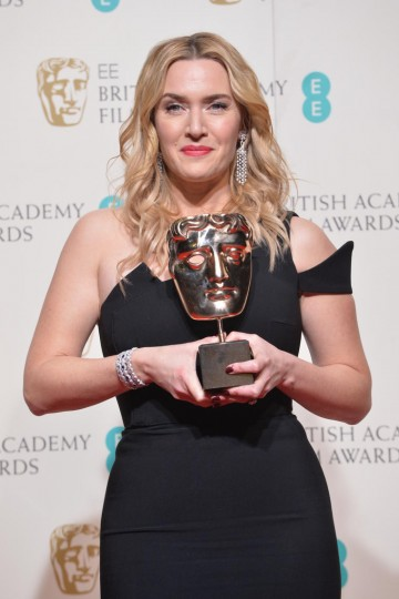 Winner of the Supporting Actress award for her role in Steve Jobs: Kate Winslet