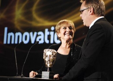 The Award for Innovation is presented by Margaret Hodge MP, Minister of State for Culture, Media and Sport