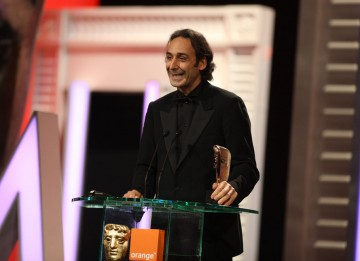 """We were lucky to find in the archives the microphones that belonged to George VI, and to the royal family. Just for that, I could do it again."" Alexandre Desplat (Pic: BAFTA/Stephen Butler)"