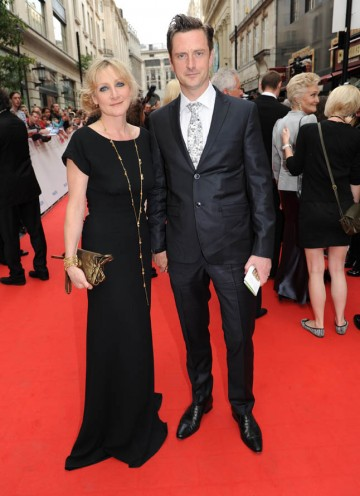 Lesley Sharp arrives on the red carpet ready to present the BAFTA for Factual Series (BAFTA/Richard Kendal).