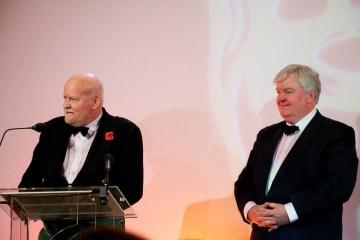 David Peat receving the Special Award for Craft (In Memory of Robert McCann)