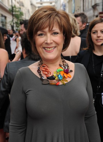 Actress and 'Loose Woman' Lynda Bellingham arrives to present the New Media category (BAFTA/Richard Kendal).