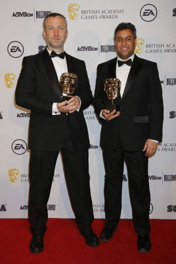 The BAFTA for Game Design was won by Middle-Earth: Shadow of Mordor