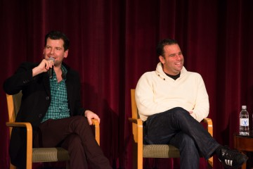 Moderator Luke Parker Bowles and Producer Randall Emmett