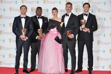 The team behind Home, winner of the British Short Film Award.