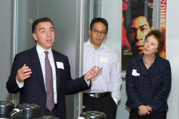 Reception for the winners of the BAFTA New York scholarship