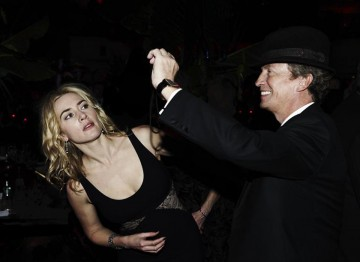 Kate Winslet and Nigel Lythgoe at the 2010 Film Awards