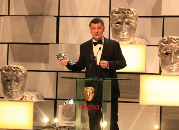 The esteemed writer behind such shows as Press Gang, Coupling, Jekyll, Doctor Who and Sherlock accepts the Special Award.
