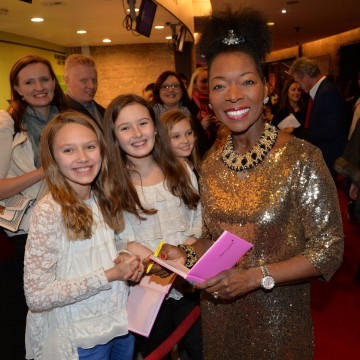 Floelle Benjamin, OBE at the BAFTA Children's Awards 2015 at the Roundhouse on 22 November 2015