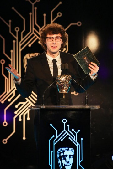 Stampy presents the award for Audio Achievement