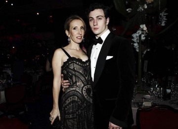 Aaron Johnson and Sam Taylor-Wood at the 2010 Film Awards