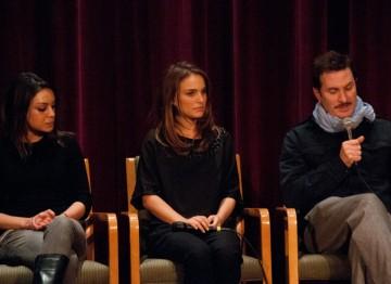 Mila Kunis, Natalie Portman and Director Darren Aronofsky.
