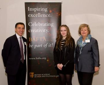 Scholarship award recipient Chelsea Franklin