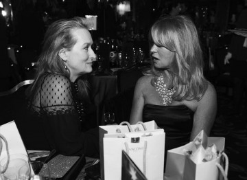 Meryl Streep and Goldie Hawn at the 2009 Film Awards