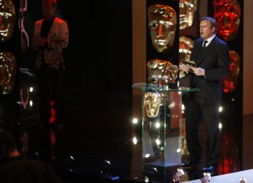 Ashes to Ashes and Life on Mars star Philip Glenister presented the first award of the night (BAFTA / Marc Hoberman).