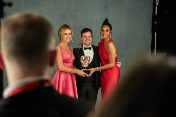 Declan Donnelly, Alisha Dixon and Amanda Holden