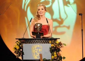 TV actress Joanne Froggatt was on hand to announce the winner in the Sound Fiction category.