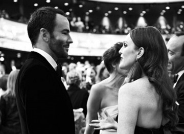 Tom Ford and Julianne Moore at the 2011 Film Awards