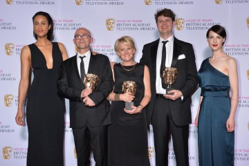 The BAFTA for Specialist Factual was presented by Zawe Ashton and Jessica Raine to Grayson Perry: Who Are You?