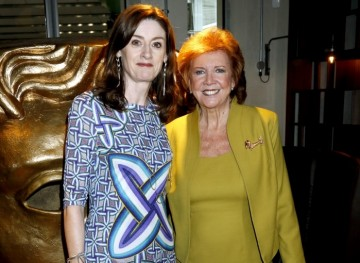 Cilla Black with BAFTA CEO Amanda Berry