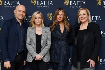 Michael Ellenberg, Reese Witherspoon, Jennifer Aniston and Mimi Leder
