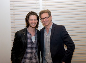 Ben Barnes and Colin Firth
