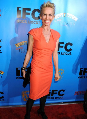 Actress Trudie Styler attends the BAFTA Monty Python Reunion Event in New York on 15 October 2009 (© BAFTA)