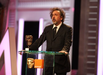 """The recipient of this award, and his electric screen presence, is someone I've admired since I was a child,"" says Tim Burton. (Pic: BAFTA/Stephen Butler)"
