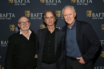 Barry Ackroyd, Jay Roach and John Lithgow