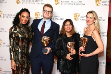 British Academy Children's Awards, Press Room, The Brewery, London, UK - 01 Dec 2019