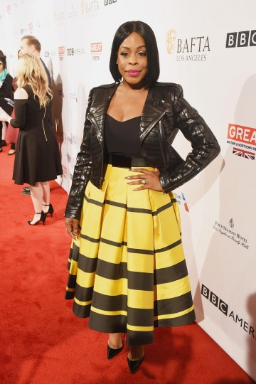 Niecy Nash from the TV series Scream Queens joins us for the 2017 BAFTA Tea