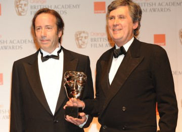 Two of the winning sound team, Philip Stockton and John Midgley.