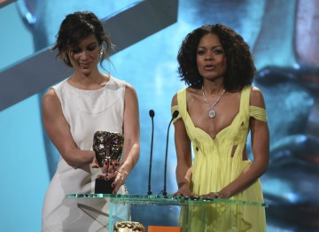 Bérénice Marlohe and Naomie Harris