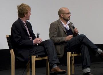 Editor Chris King and Producer Jaimie D' Cruz