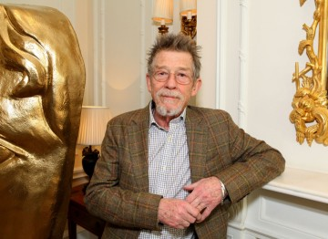 John Hurt at Savoy London for a special lunch in celebration of his Outstanding British Contribution to Cinema Award.
