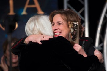 Christine Cant & Kirsty Wark