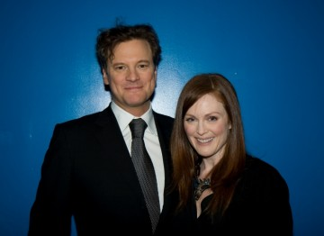 Colin Firth and Julianne Moore