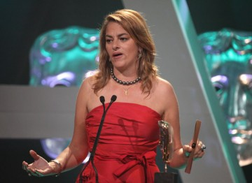 Artist Tracey Emin arrives to present the Current Affairs award.