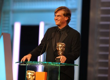 """Under more normal circumstances, I would be very excited about this, but sitting in the seat in front of me is one of The Beatles, and in front of him was Julianne Moore, and in front of her was Annette Bening. So I am maxed out."" Aaron Sorkin, The Socia"