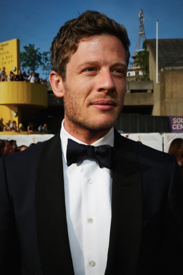 Presenting the award for Supporting Actress: James Norton
