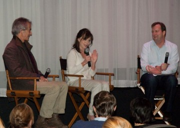 David Strathairn, Sally Field and Moderator Patrick Connolly